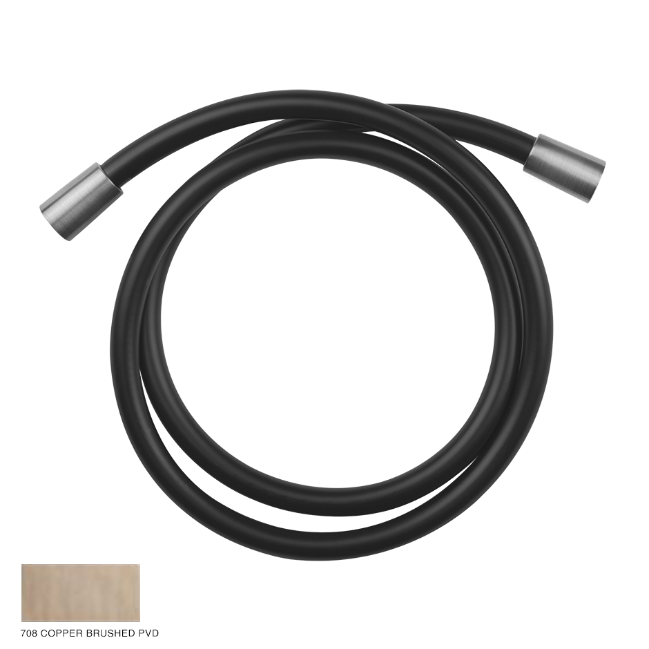 Gessi 316 Darkflex flexible hose 708 Copper Brushed