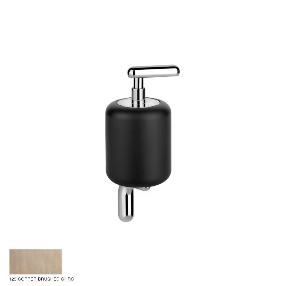 Goccia Wall-mounted soap dispenser 125 Copper Brushed GHRC