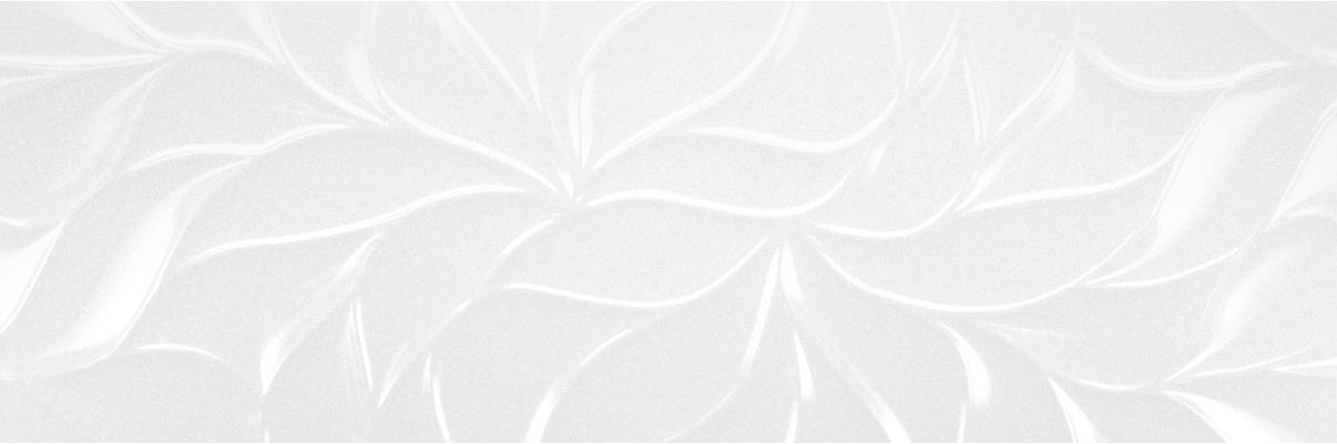 Leaves Blanco Brillo Glossy 30 x 90