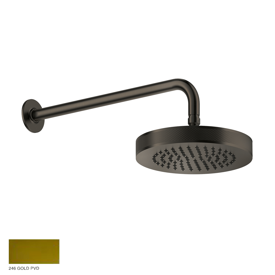 Inciso Wall-mounted Showerhead 246 Gold PVD