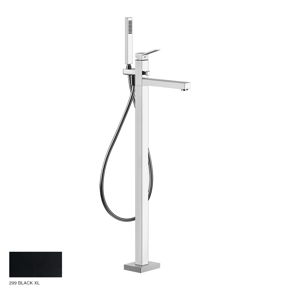 Rettangolo Freestanding Bath Mixer 299 Black XL