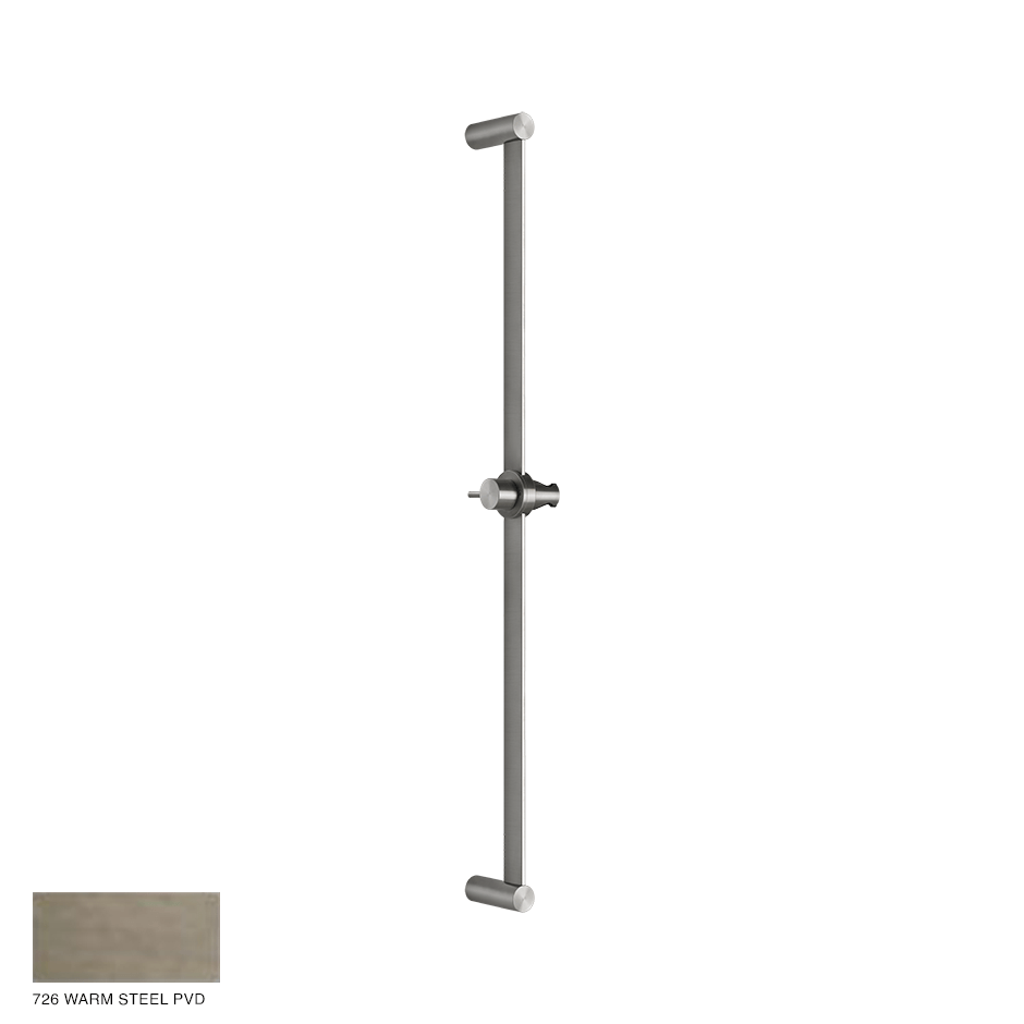 Gessi 316 Sliding rail 726 Warm Bronze Brushed PVD