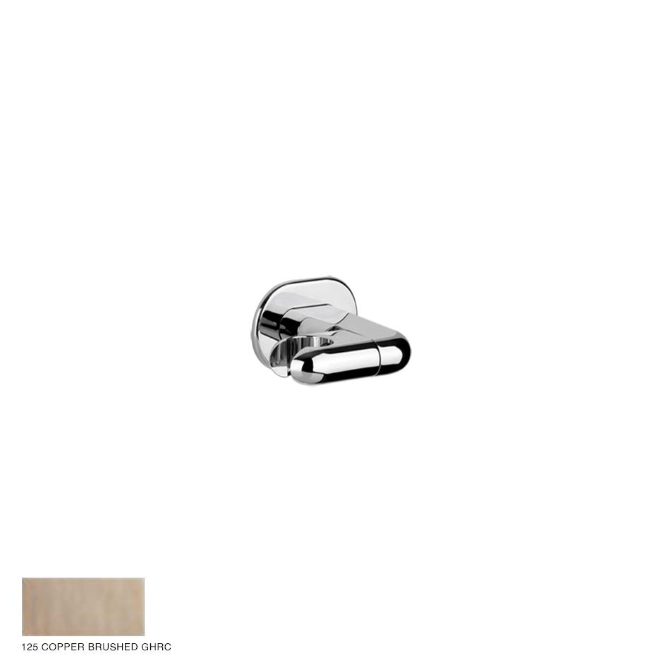Goccia Adjustable handshower hook 125 Copper Brushed GHRC