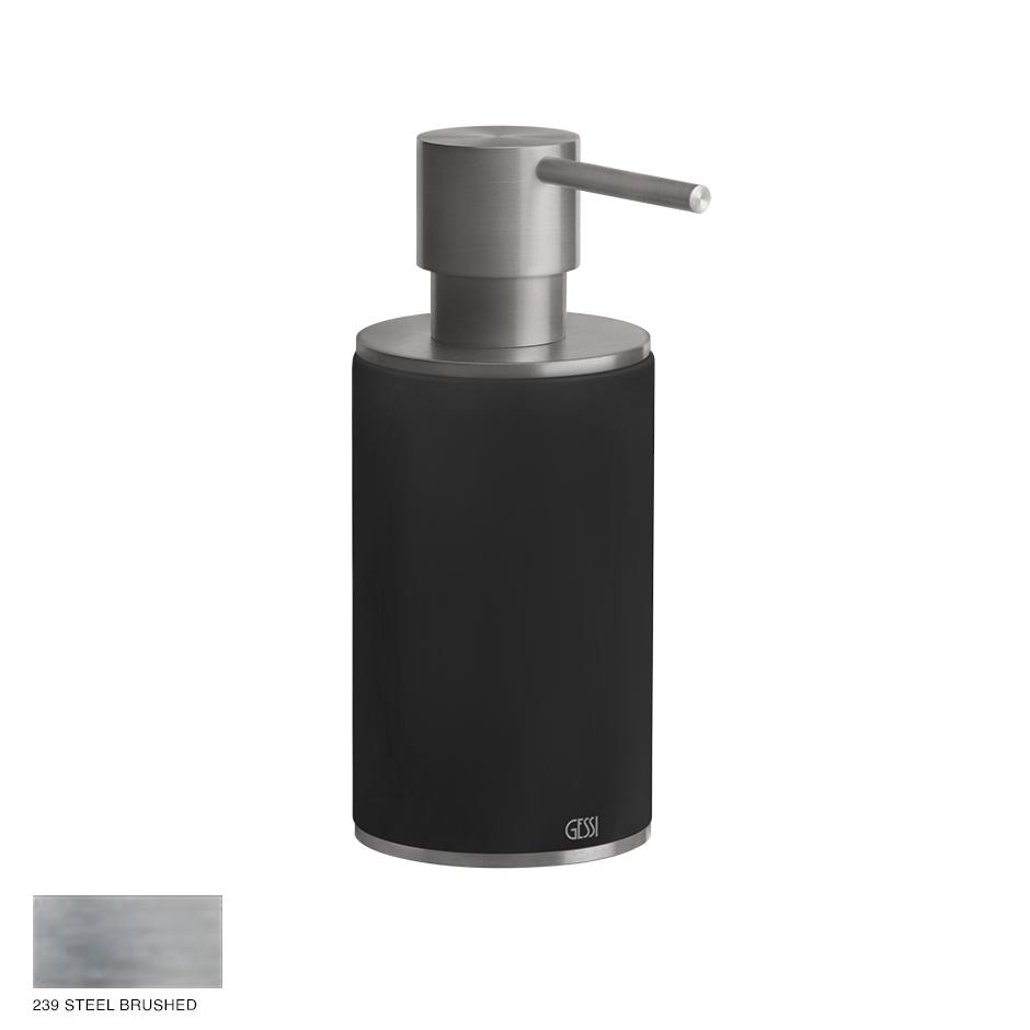 Gessi 316 Standing soap dispenser 239 Steel brushed