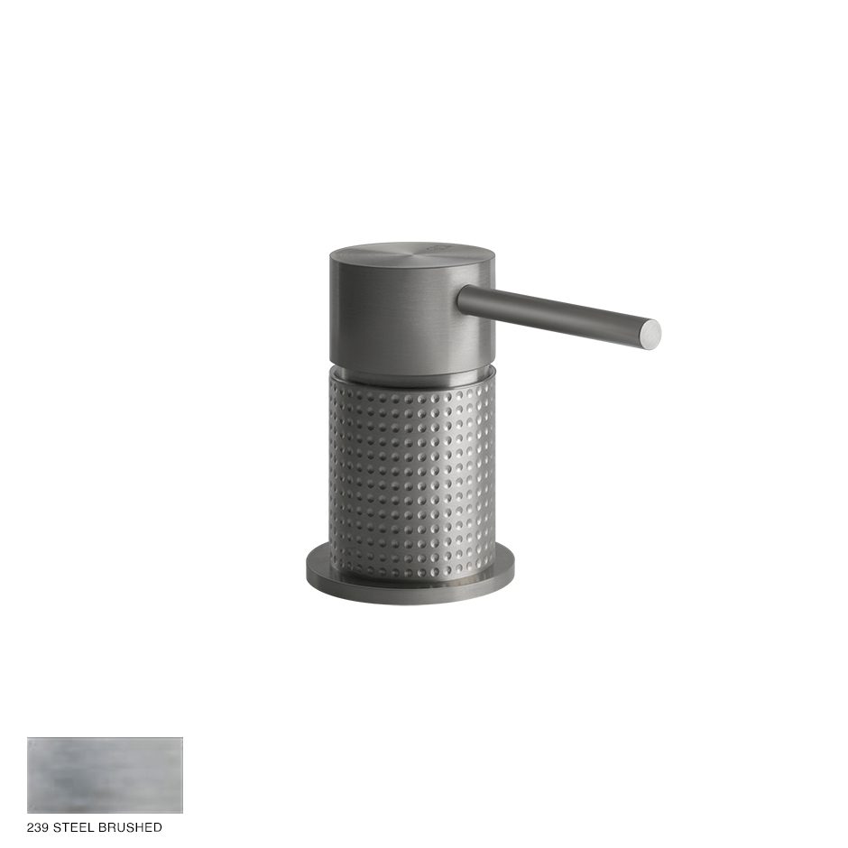 Gessi 316 Counter seperate control Cesello 239 Steel brushed