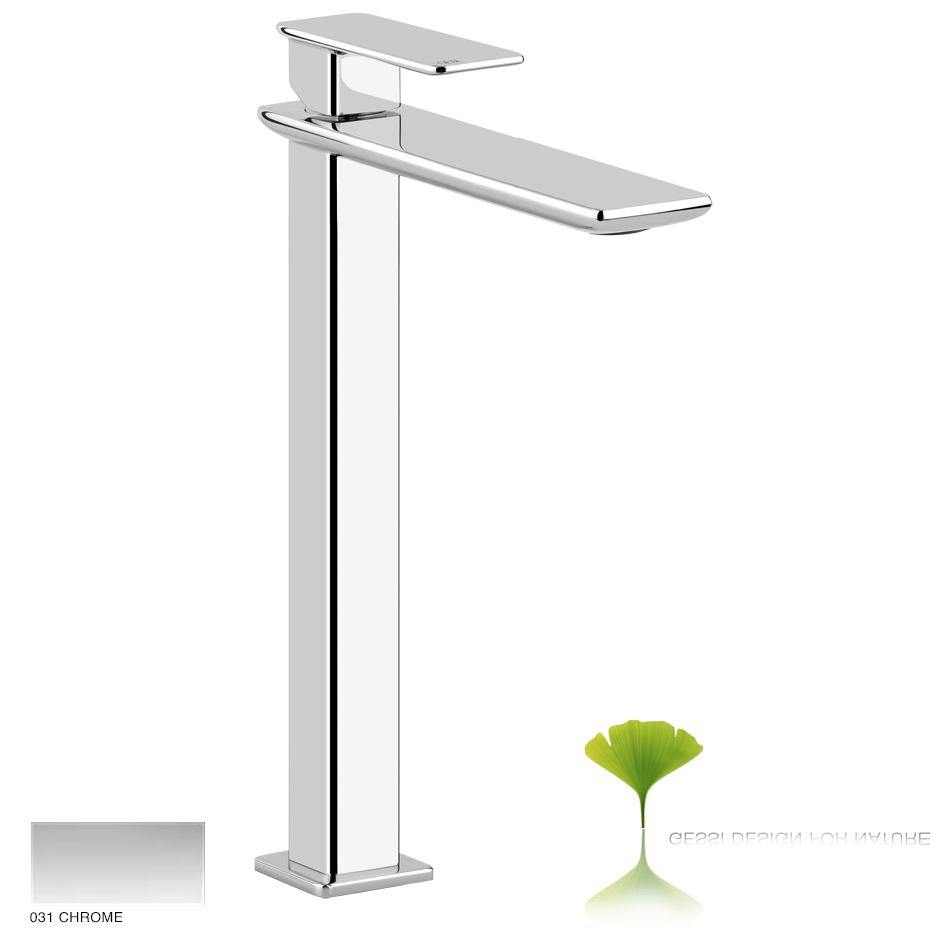 Ispa Project High version basin mixer with pop-up waste 031 Chrome