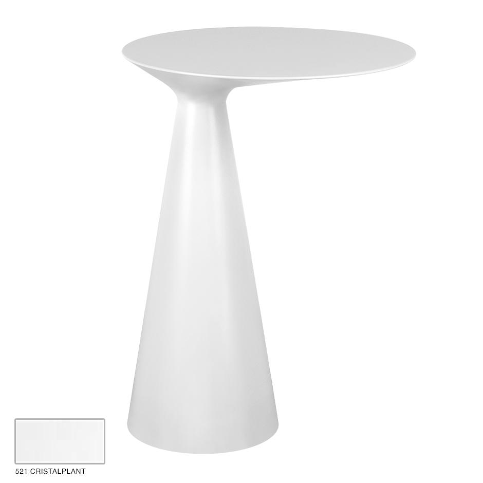 Cono Freestanding side-table 521 Cristalplant