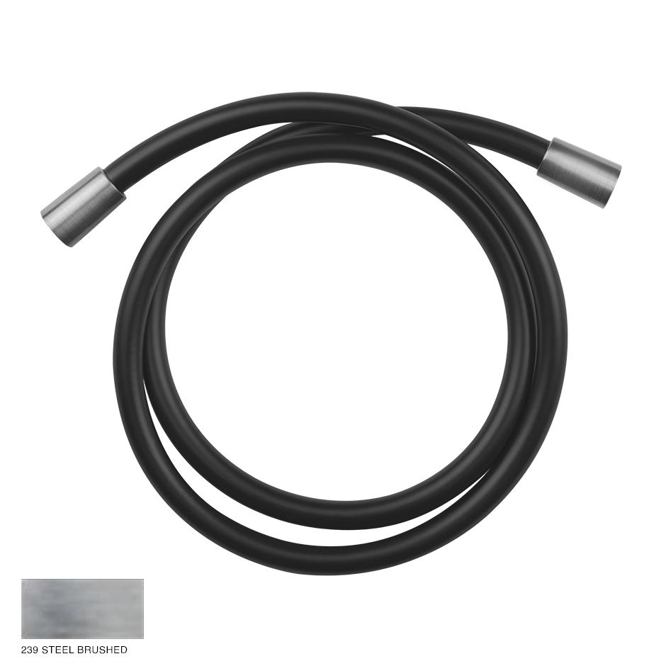 Gessi 316 Darkflex flexible hose 239 Steel brushed