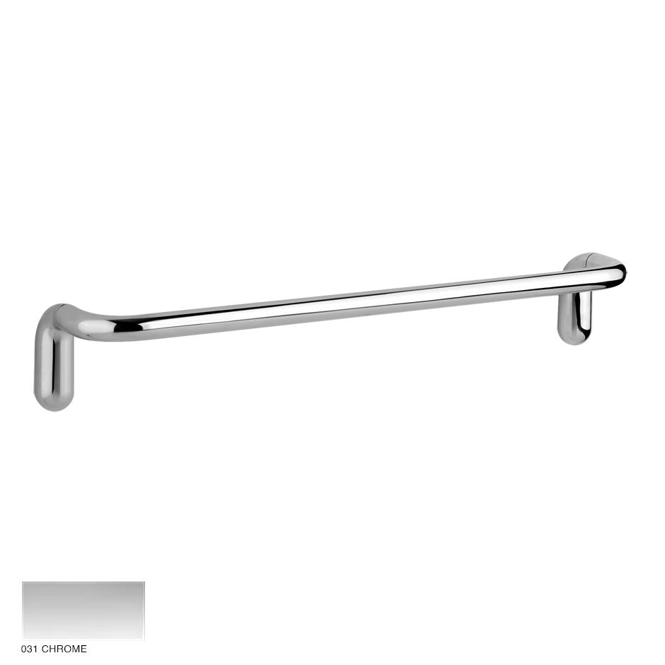 Goccia Towel rail, 30cm 031 Chrome