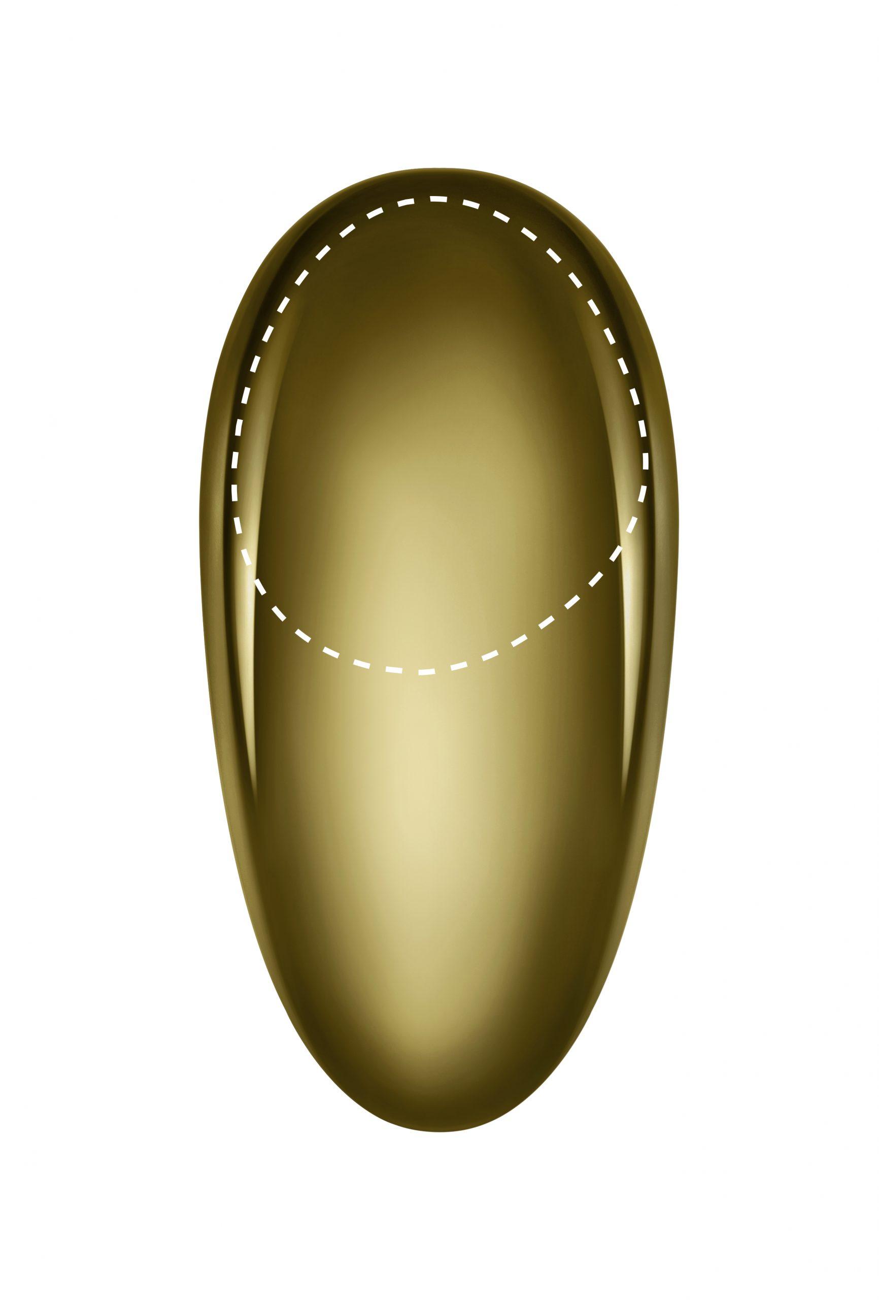 Equilibrio Basin Mixer 246 Gold PVD