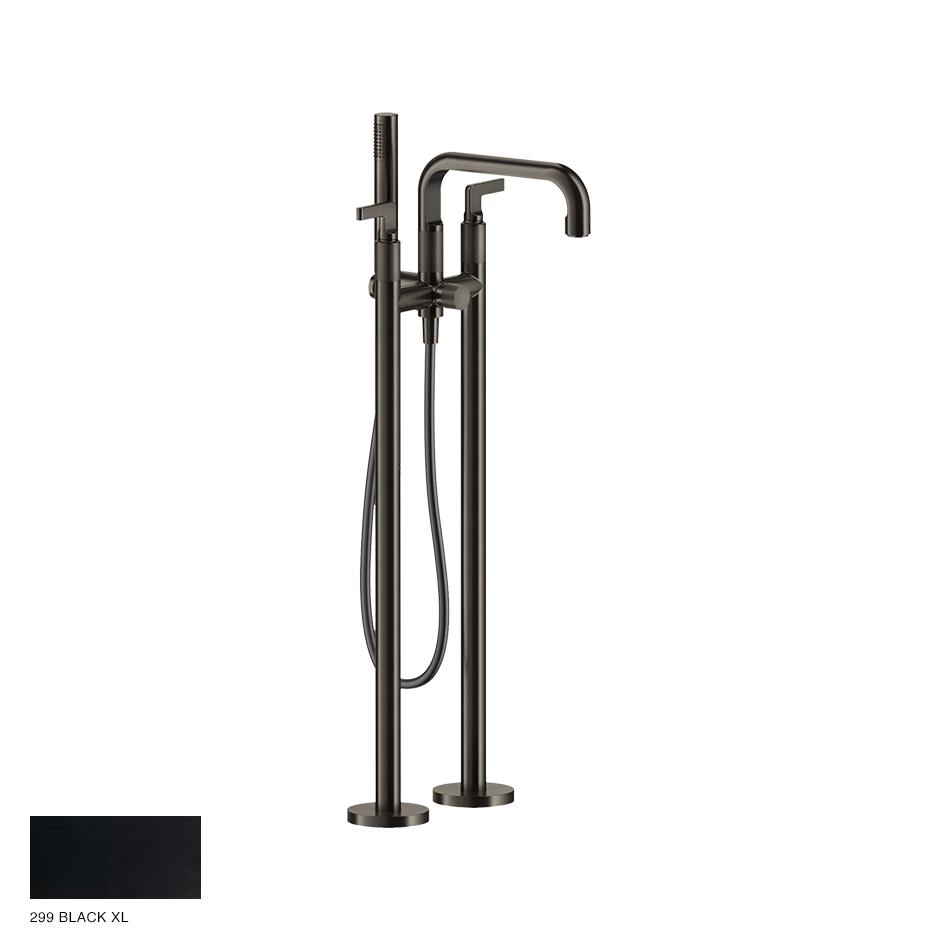 Inciso- Freestanding Bath Mixer with handshower 299 Black XL
