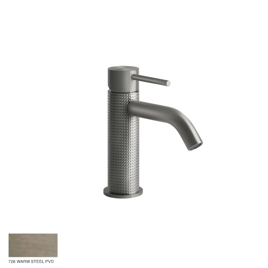 Gessi 316 Basin Mixer Cesello, without waste 726 Warm Bronze Brushed PVD