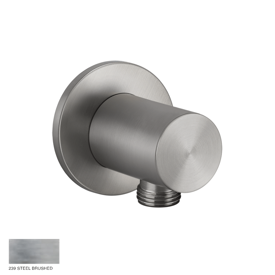 Gessi 316 Water outlet 239 Steel brushed