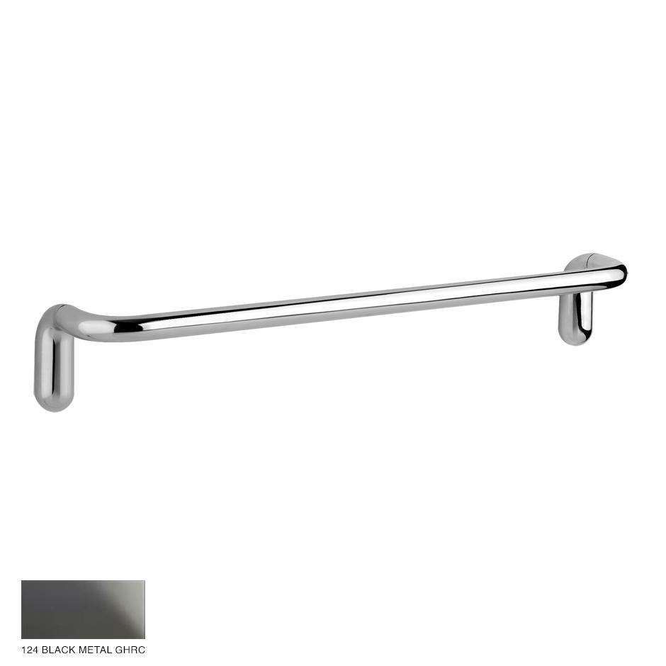 Goccia Towel rail, 30cm 124 Black Metal GHRC