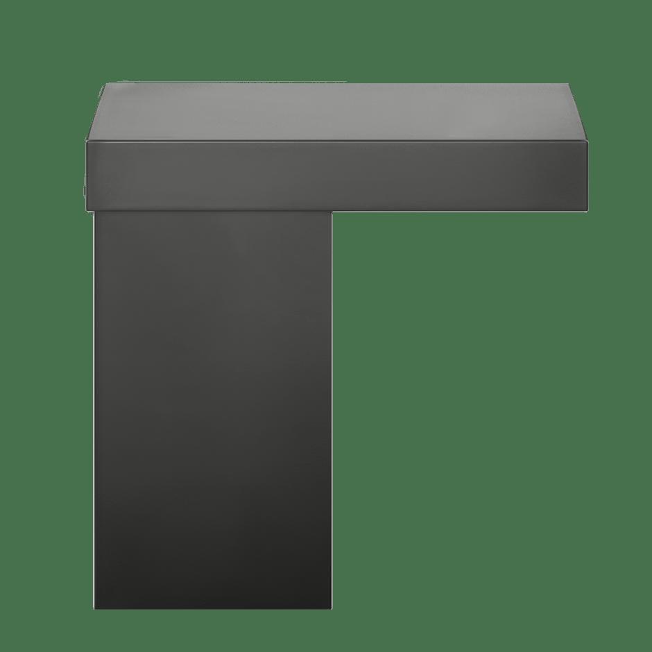Equilibrio Countertop Shelf for Basin Mixer 299 Black XL