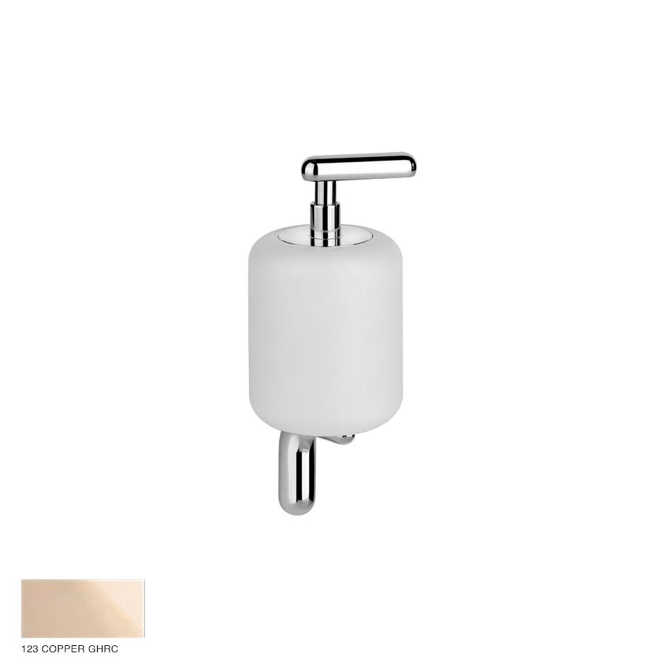 Goccia Wall-mounted soap dispenser 123 Copper GHRC