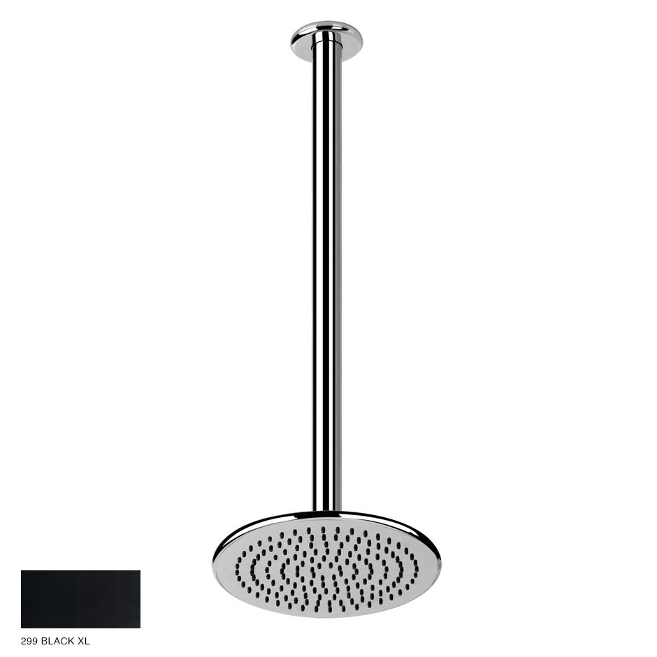 Goccia Ceiling-mounted showerhead, custom length 299 Black XL
