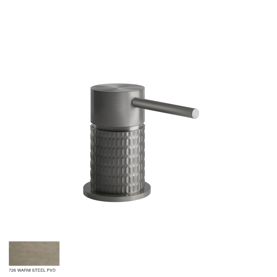 Gessi 316 Counter seperate control Meccanica 726 Warm Bronze Brushed PVD
