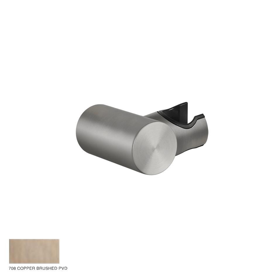 Gessi 316 Adjustable handshower hook 708 Copper Brushed