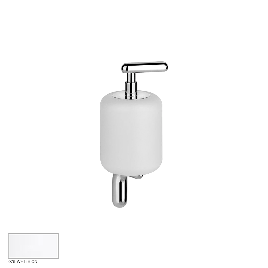 Goccia Wall-mounted soap dispenser 079 White CN