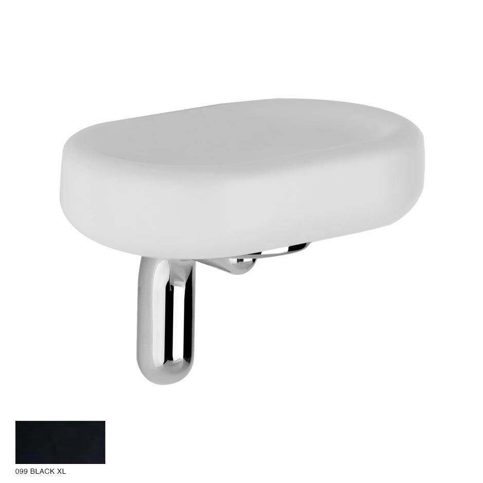 Goccia Wall-mounted soap holder 099 Black XL