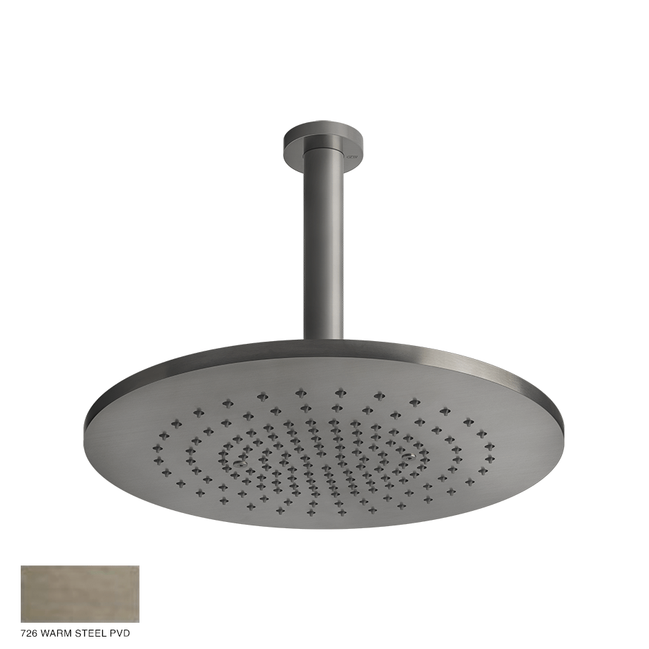 Gessi 316 Ceiling-mounted showerhead 726 Warm Bronze Brushed PVD