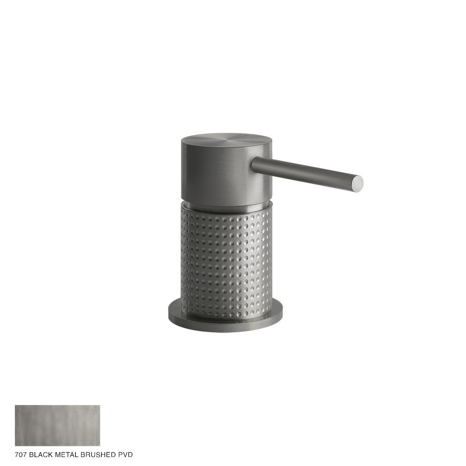 Gessi 316 Counter seperate control Cesello 707 Black Metal Brushed