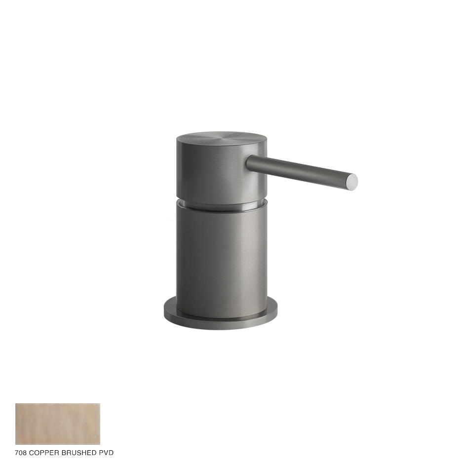 Gessi 316 Counter seperate control Flessa 708 Copper Brushed PVD