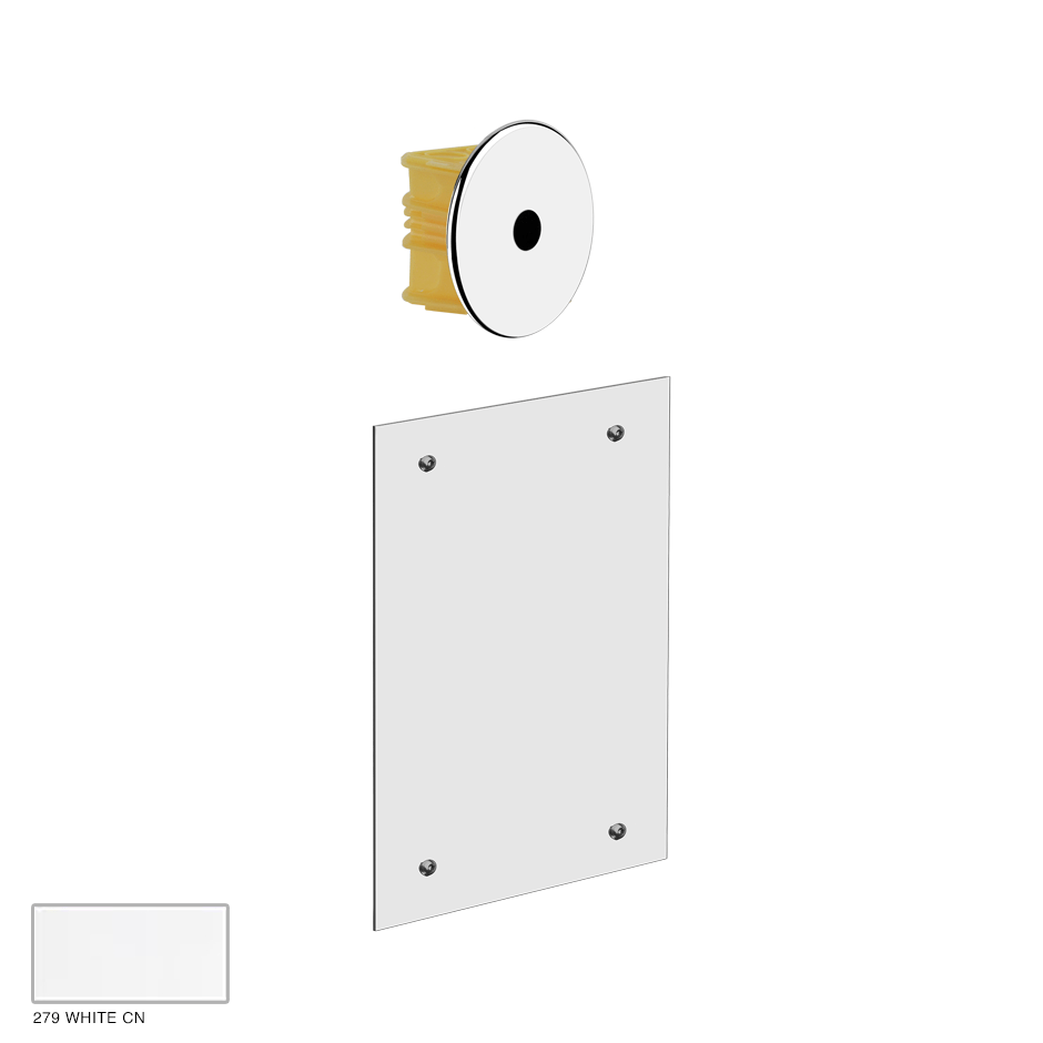 External parts for built-in electronic separate control 279 White CN