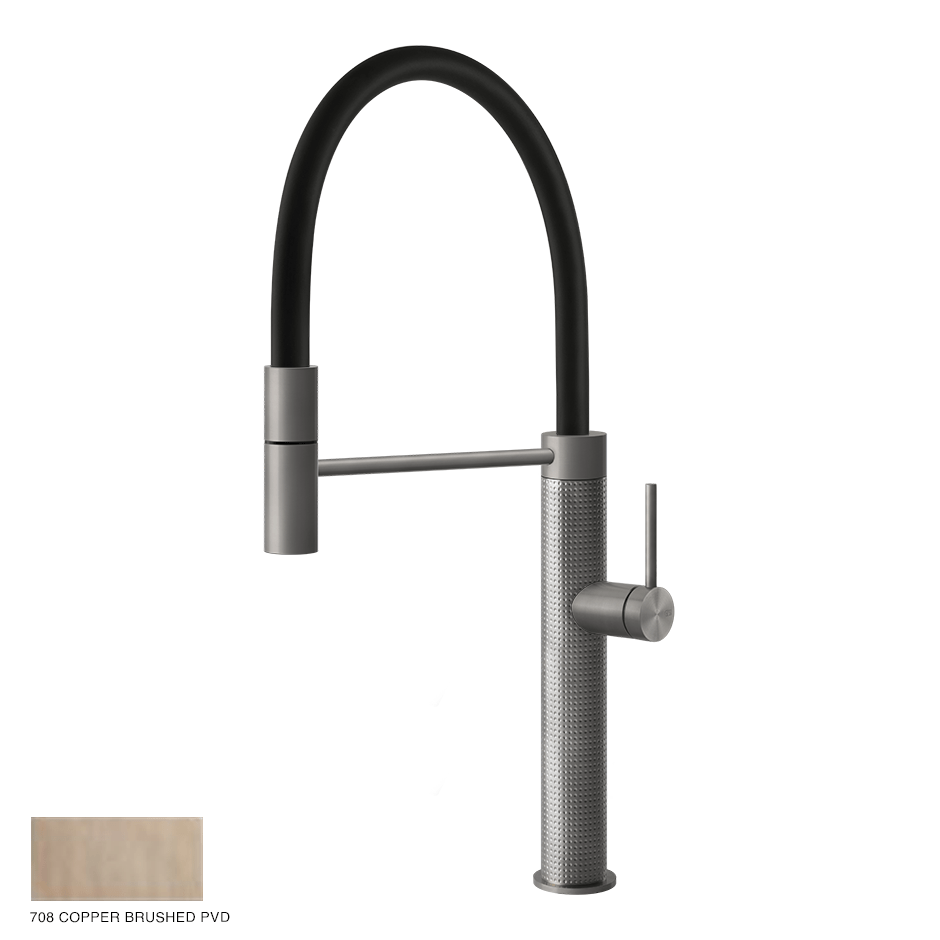 Gessi 316 Kitchen Mixer Cesello 708 Copper Brushed PVD