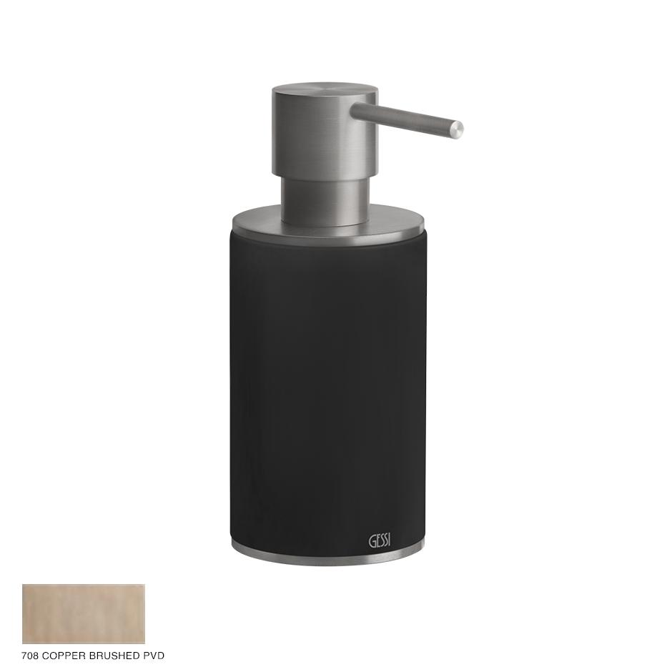 Gessi 316 Standing soap dispenser 708 Copper Brushed PVD