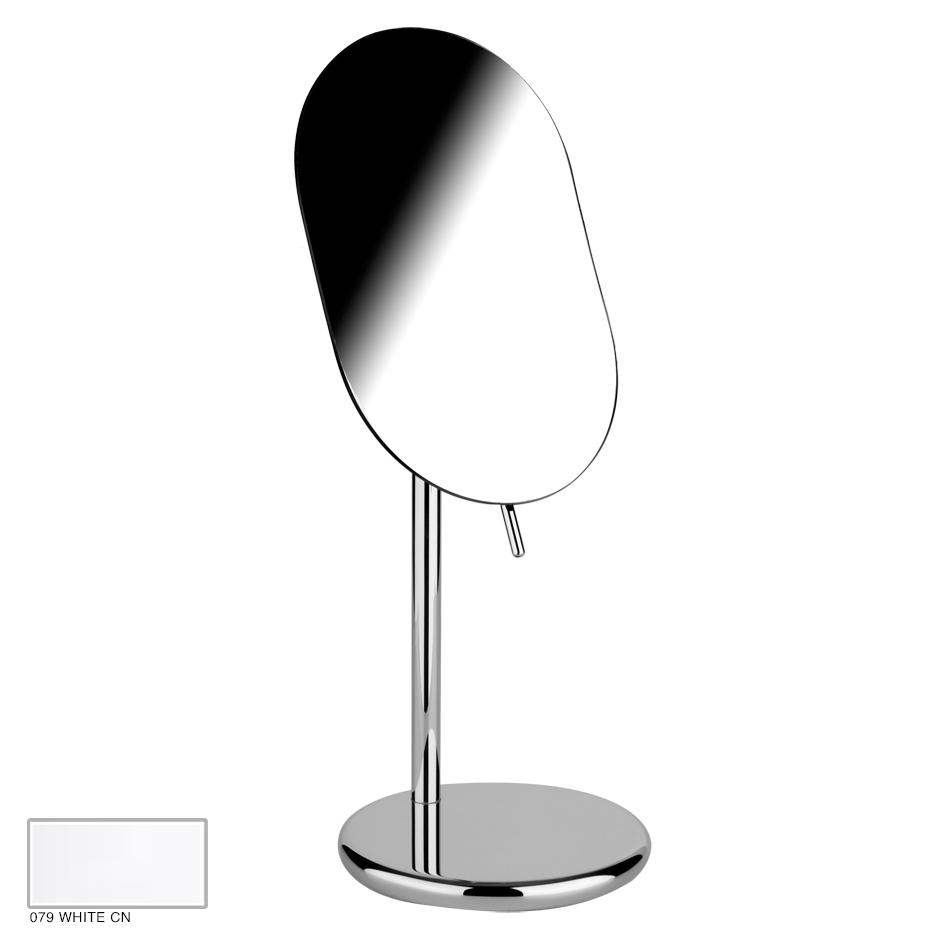 Goccia Adjustable standing mirror 079 White CN
