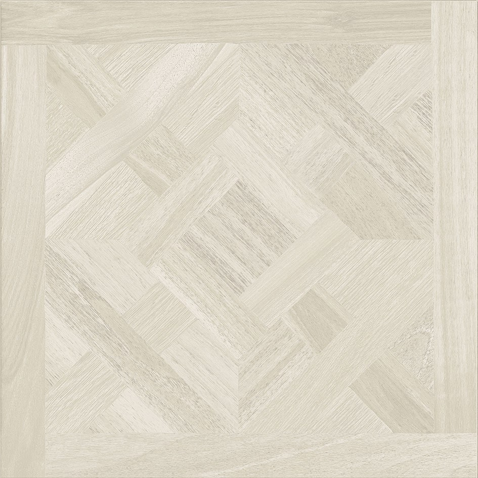 Wooden Tile / Decor Wooden White Matte 10mm 80 x 80