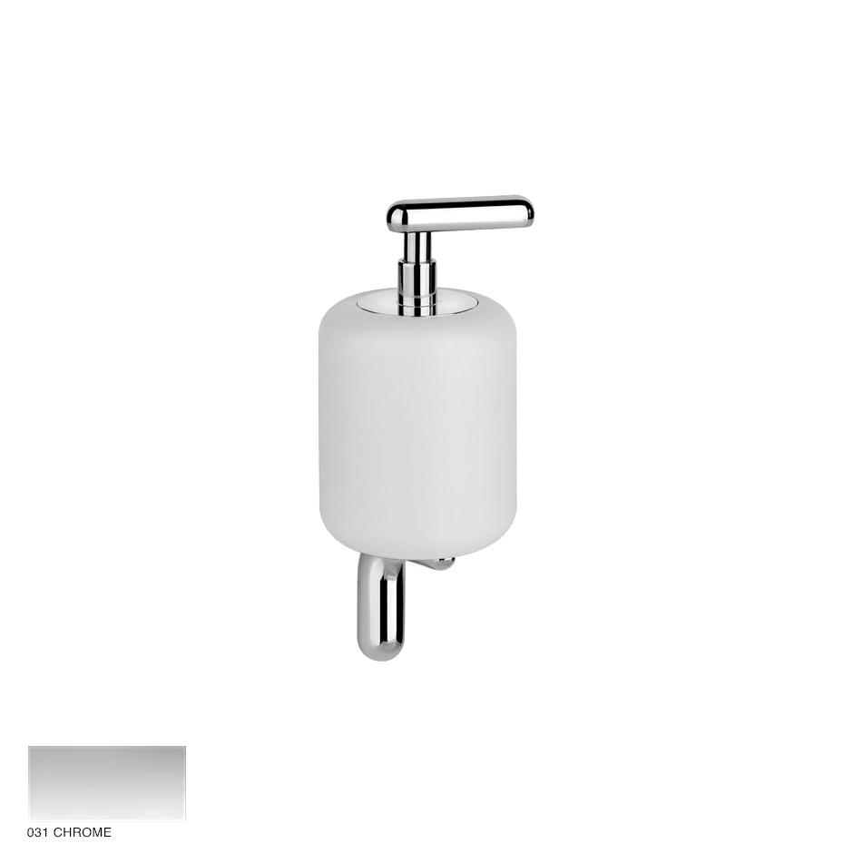 Goccia Wall-mounted soap dispenser 031 Chrome