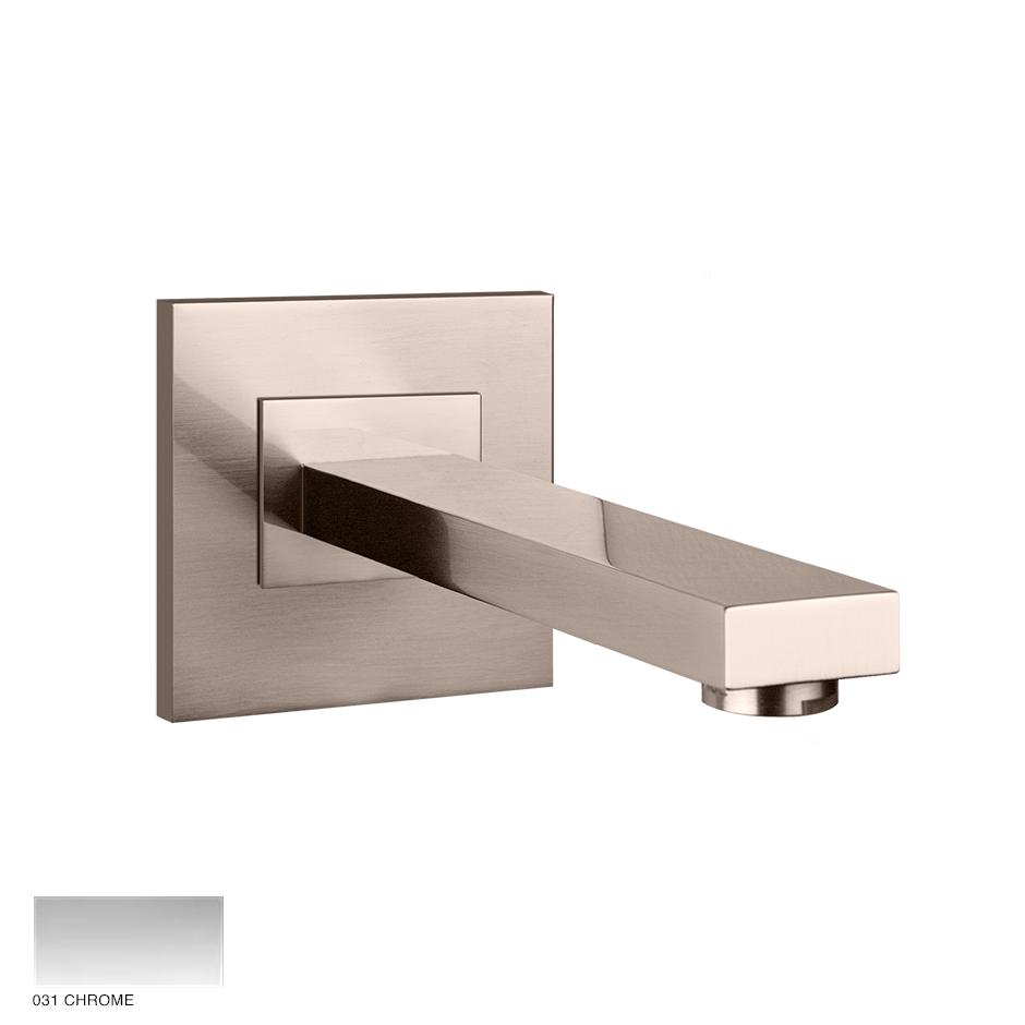 Rettangolo Bath spout, custom length 031 Chrome