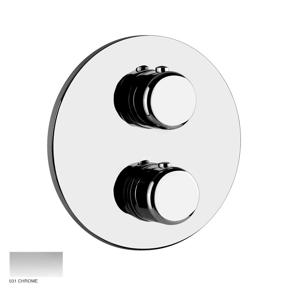 Goccia Thermostatic Mixer, two-way diverter 031 Chrome