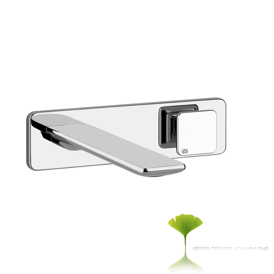 Ispa External parts for built-in mixer with spout, without waste 031 Chrome