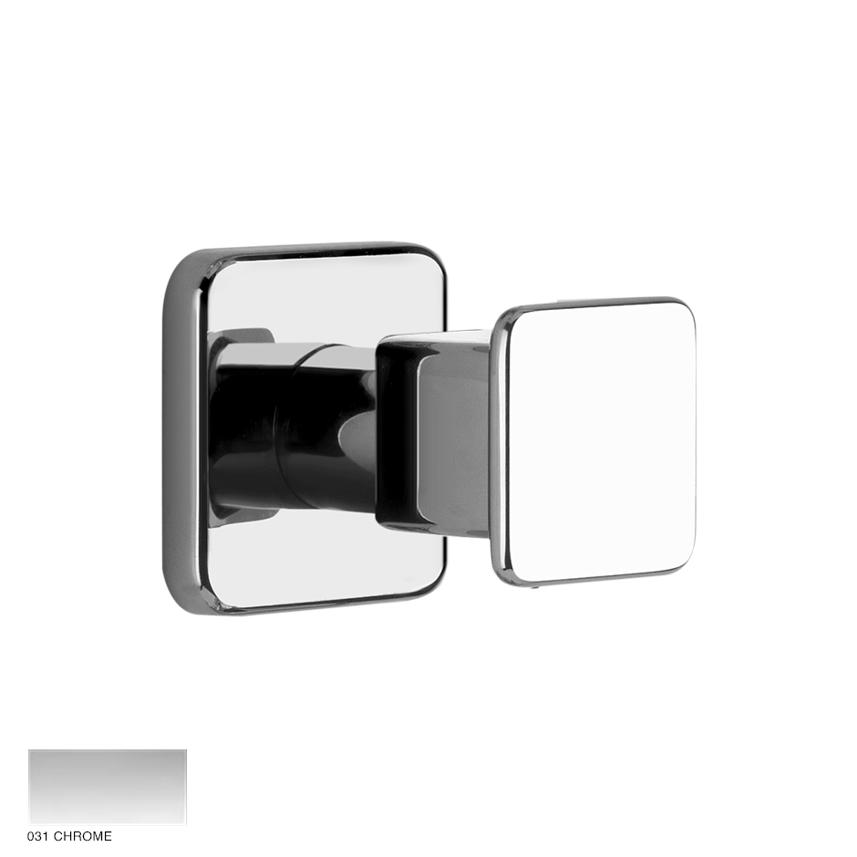 Ispa Shower External parts for 1/2' built-in stop valve 031 Chrome