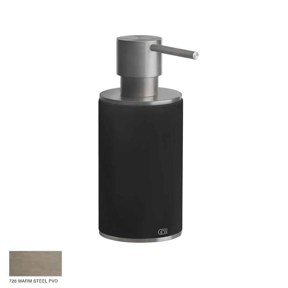Gessi 316 Standing soap dispenser 726 Warm Bronze Brushed PVD