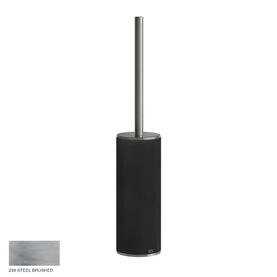 Gessi 316 Standing brush holder 239 Steel brushed