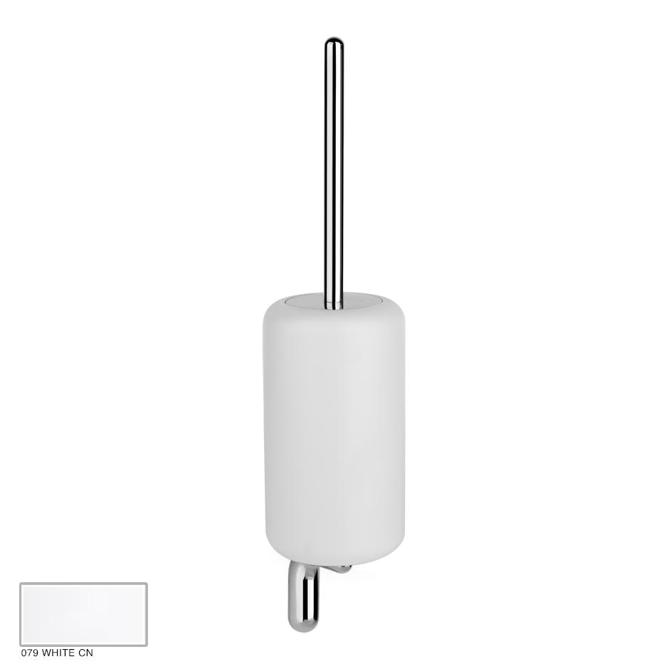 Goccia Wall-mounted brush holder 079 White CN