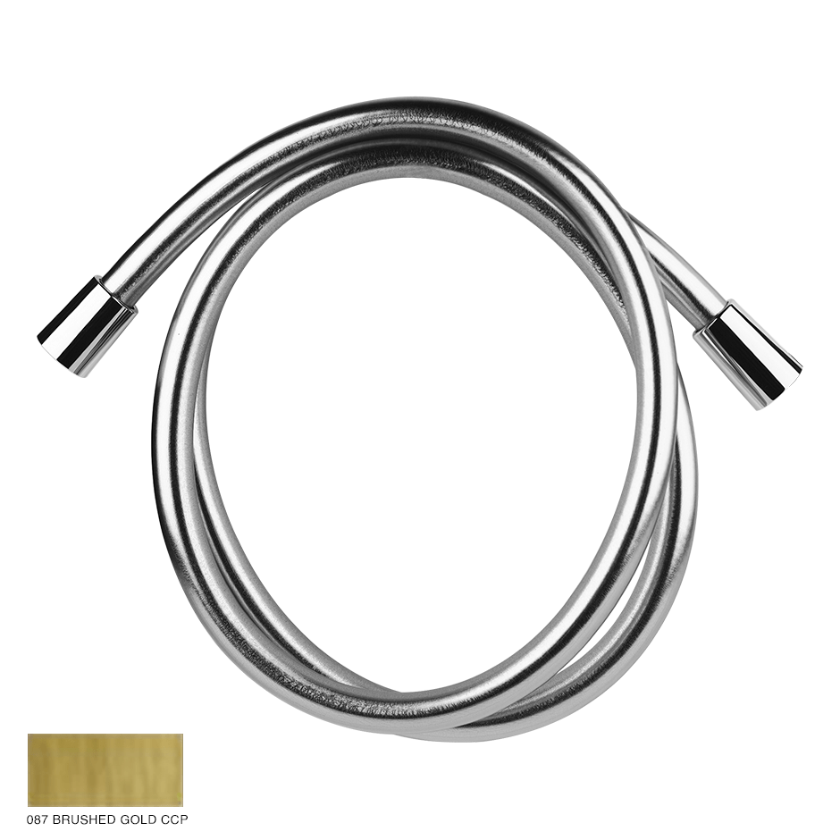 Cromalux flexible hose 2m 087 Brushed Gold CCP