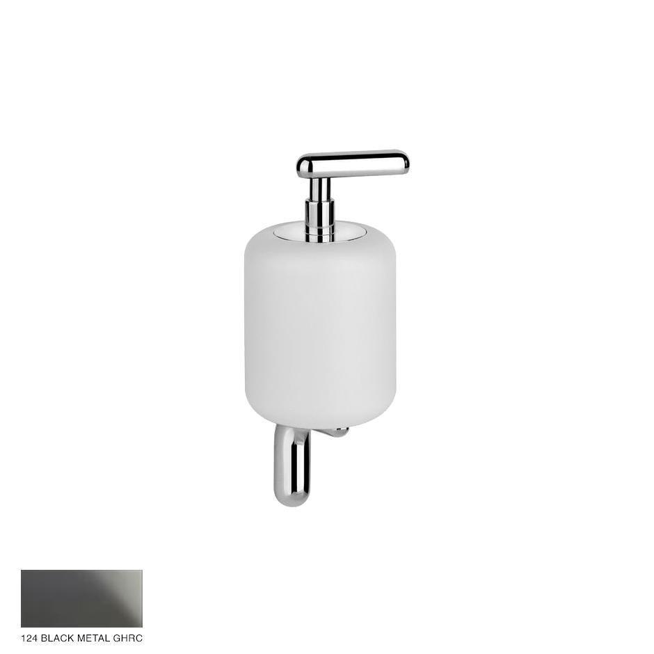 Goccia Wall-mounted soap dispenser 124 Black Metal GHRC
