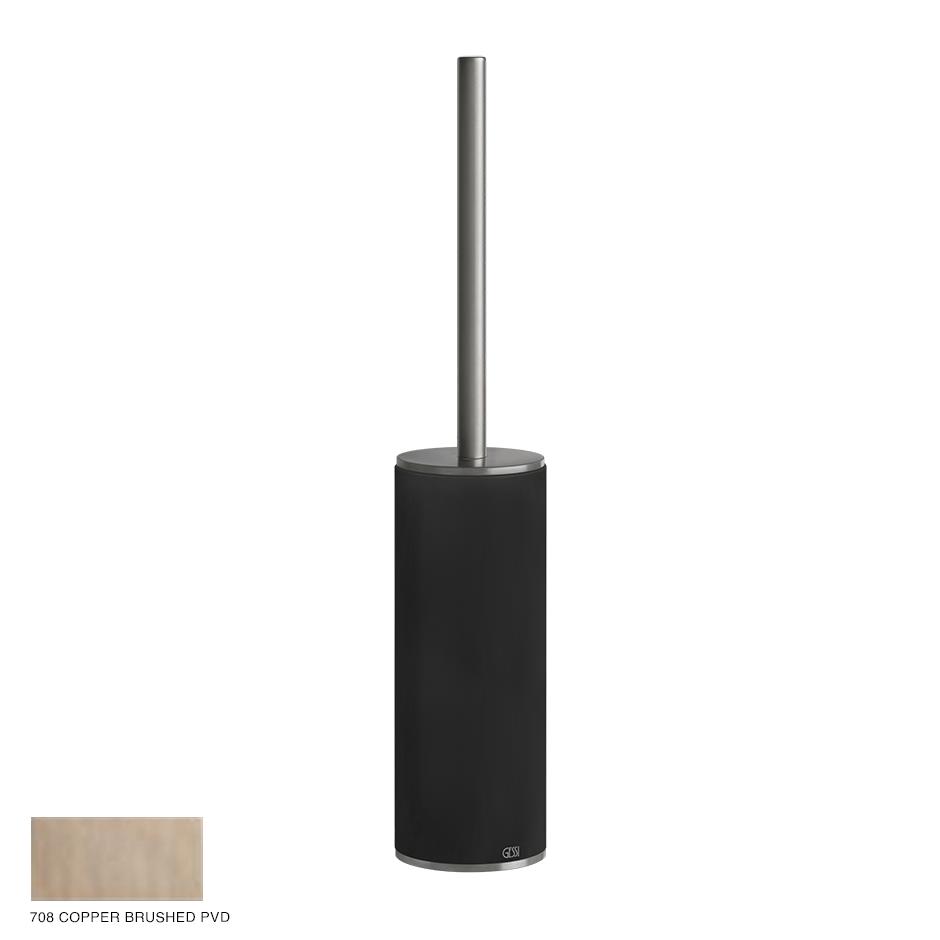 Gessi 316 Standing brush holder 708 Copper Brushed PVD
