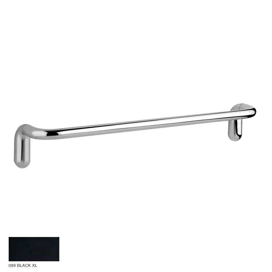 Goccia Towel rail, 30cm 099 Black XL