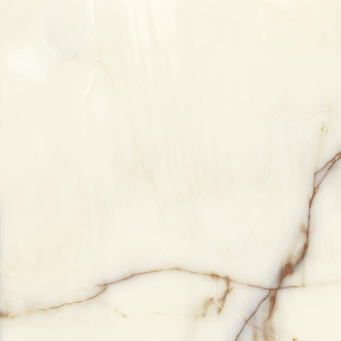 Les Bijoux de Rex Onyx Blanche Glossy 10mm 60 x 60