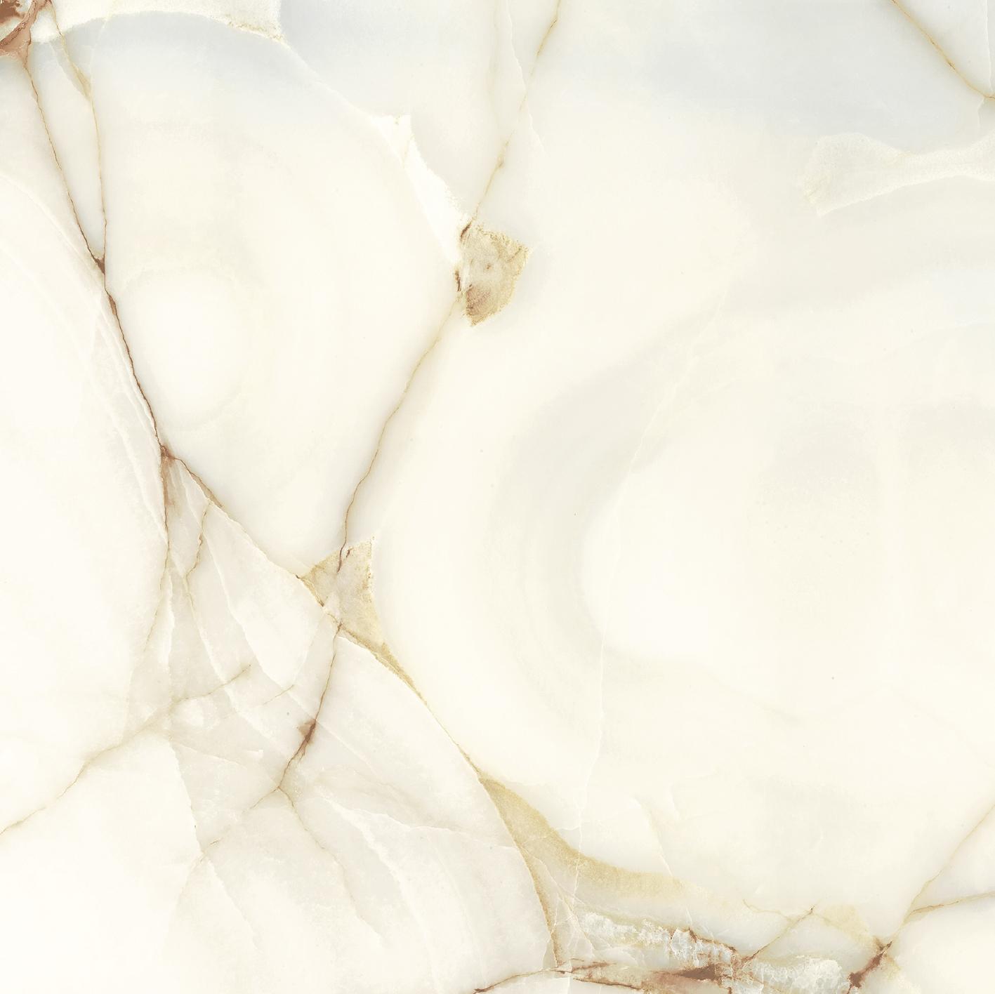 Les Bijoux de Rex Onyx Blanche Glossy 10mm 80 x 80