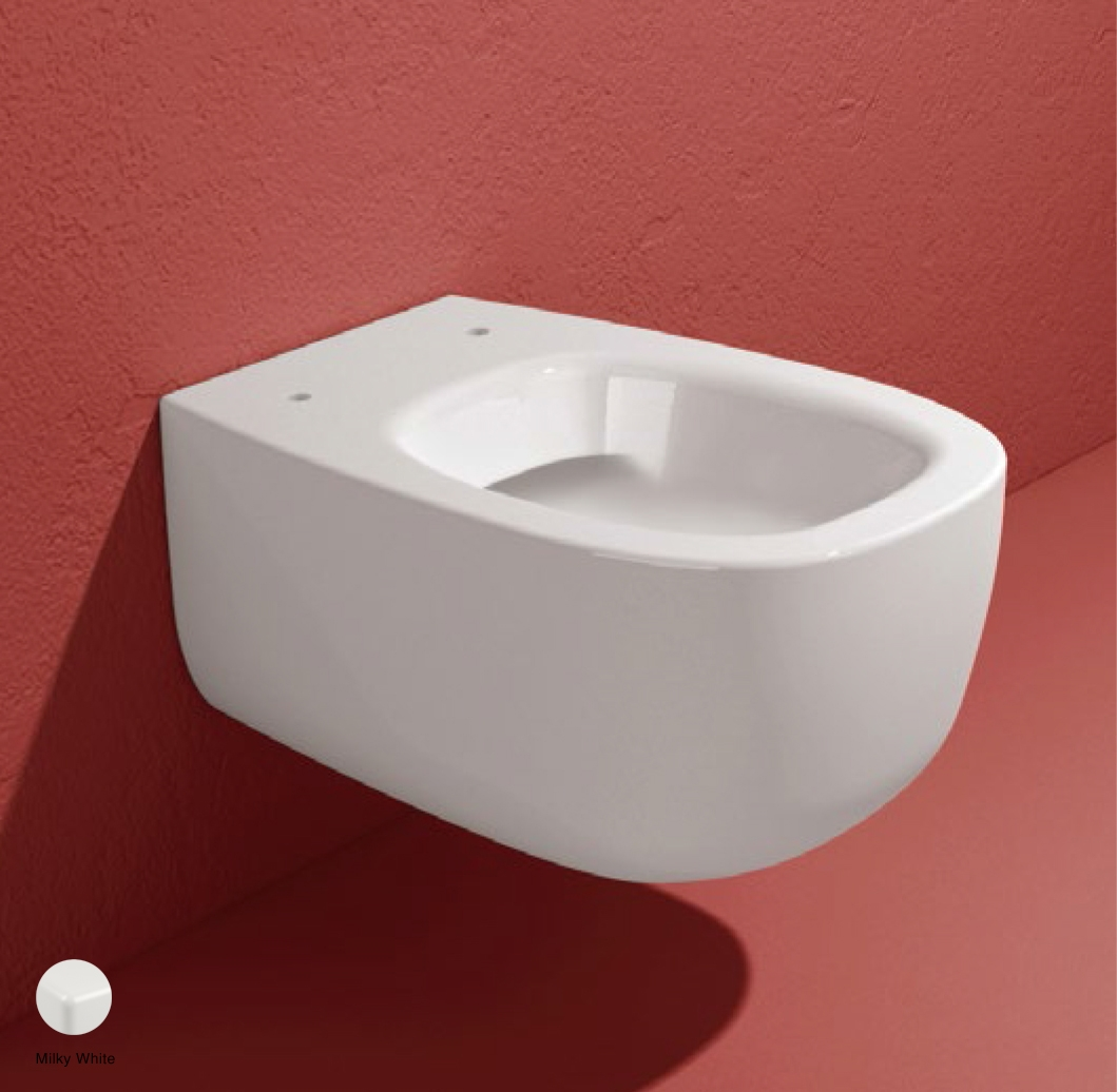 Bonola Wall hung WC with goclean system Milky White