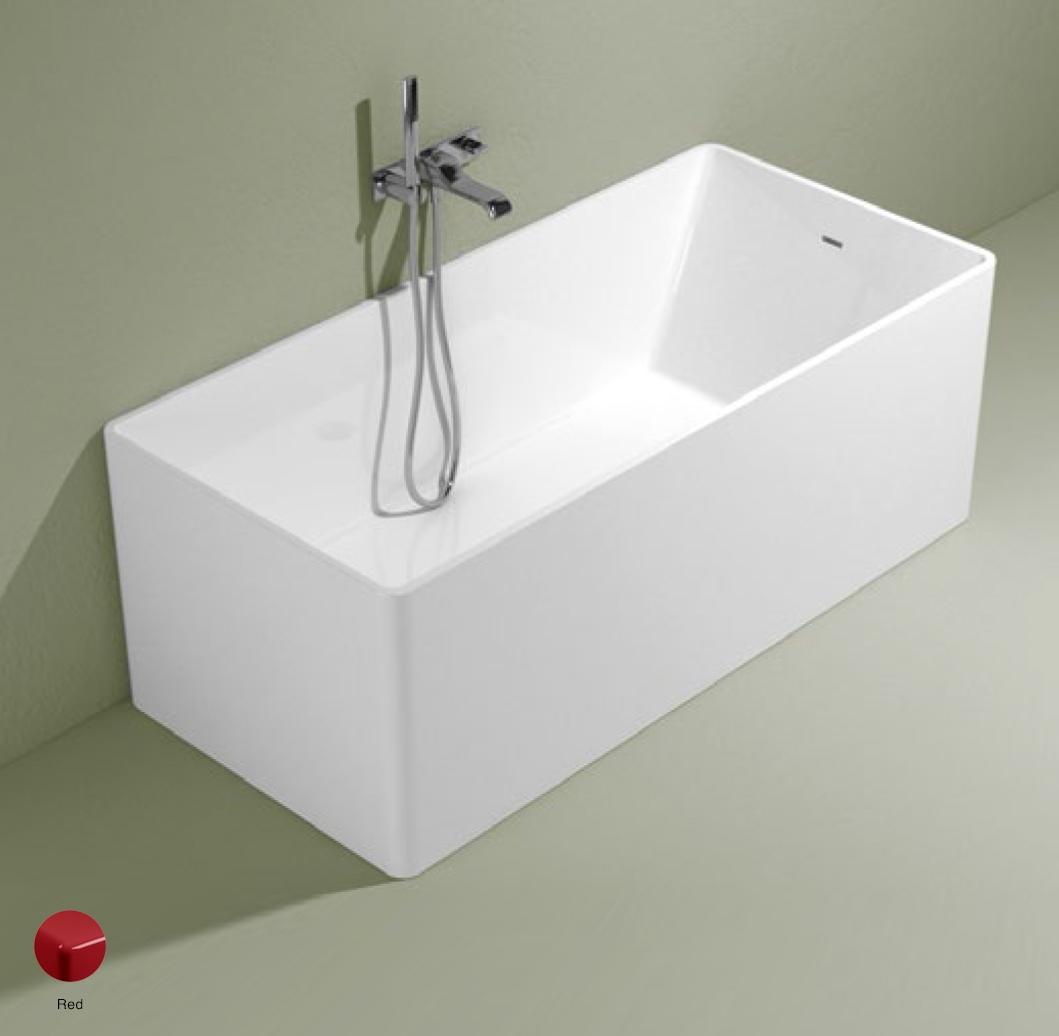 Wash Bath-tub 150 cm in Pietraluce Red