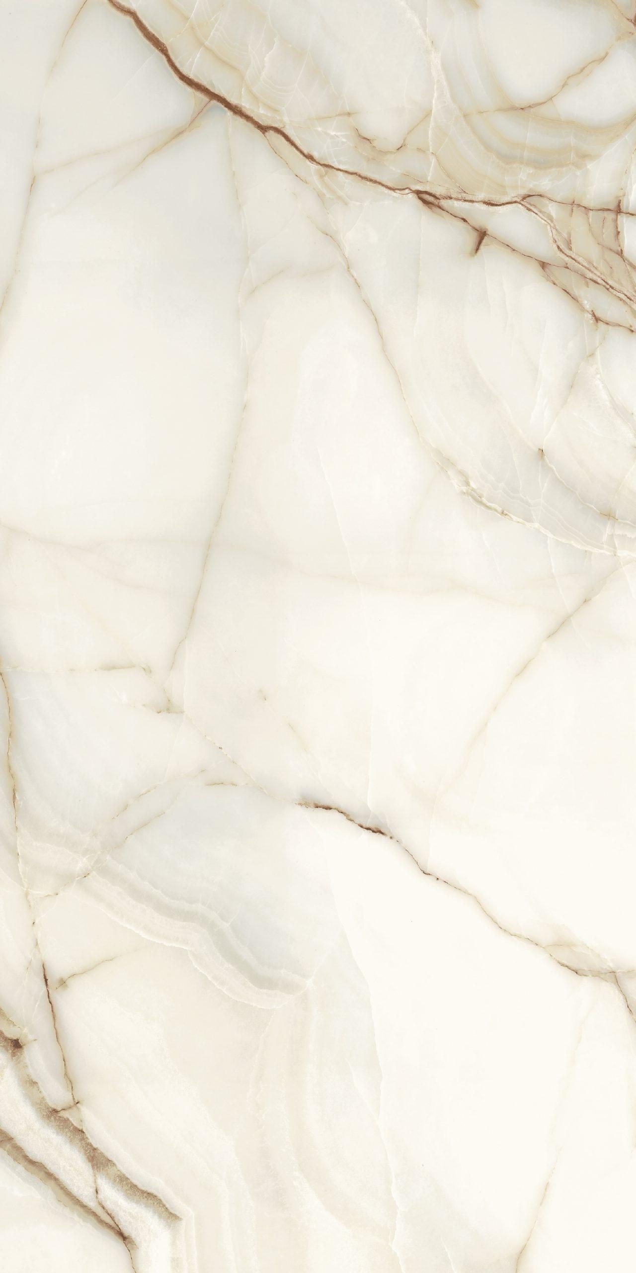 Les Bijoux de Rex Onyx Blanche Matte 10mm 80 x 180